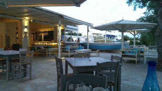 Thalassamou : Bar et terrasse