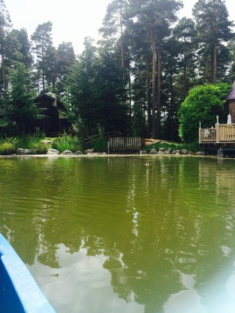Center Parcs Whinfell Forest: Our boat trip