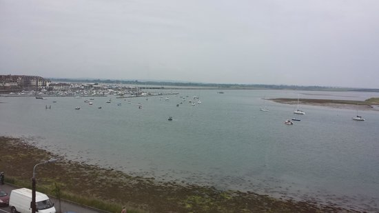 Grand Hotel Malahide: perfect view from room
