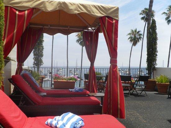 Portofino Hotel : Fab sun deck