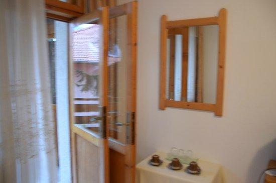 The Three Fir-Tree House : the room