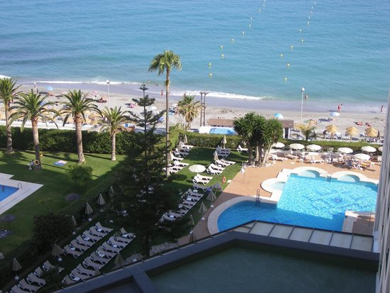 Hotel Riu Monica: Full seaview from room 620