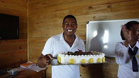 Grand Bahia Principe La Romana: Javier's birthday