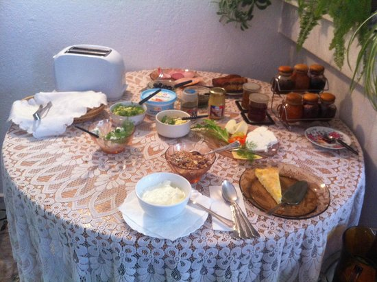 The Three Fir-Tree House : The breakfast buffet
