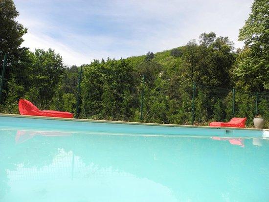 Comptoir du Ranc de Bannes : piscine