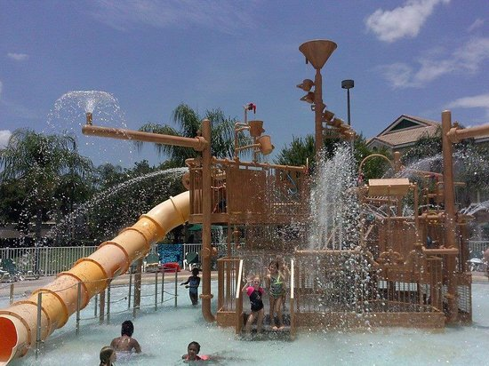 Crown Club Inn Orlando By Exploria Resorts: Water park
