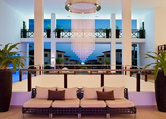 Melia Tortuga Beach Resort & Spa: stunning reception