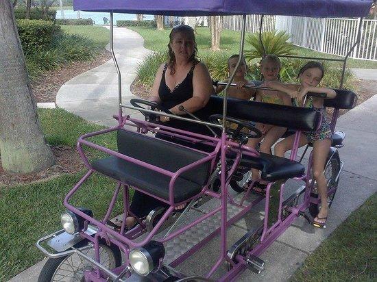 Crown Club Inn Orlando By Exploria Resorts: Bike rental