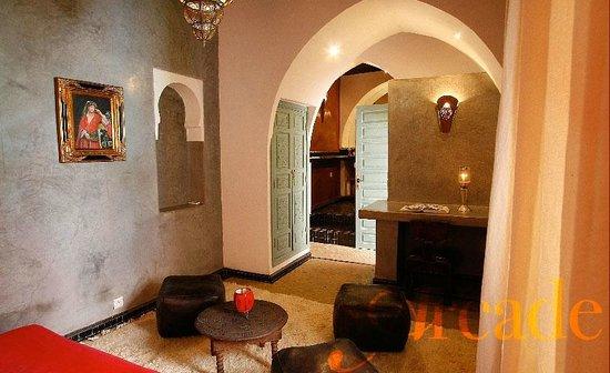 Riad Moullaoud : Chambre Arcade