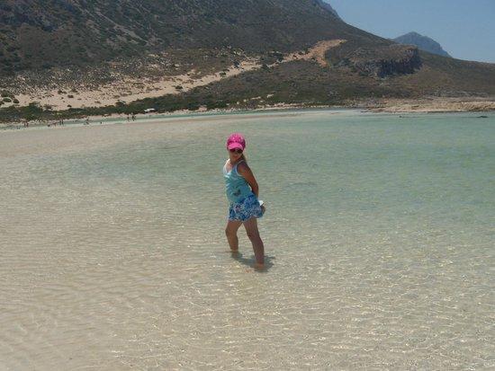 Balos Lagoon : бухта