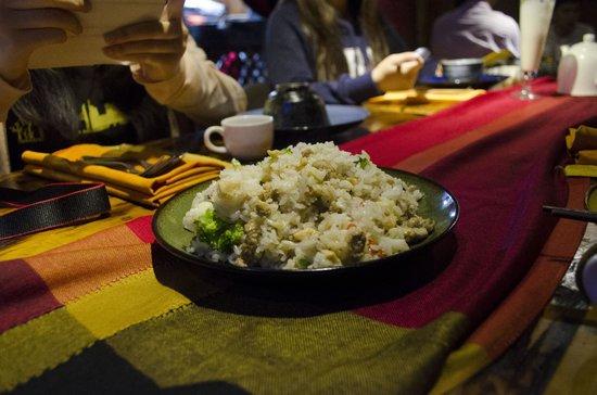 Tara's Gallery Cafe and Bar : Very nice fried rice