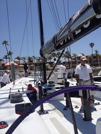 Sail Stars & Stripes USA-11: Getting Ready to Sail