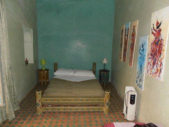 Riad Zinoun: Habitación