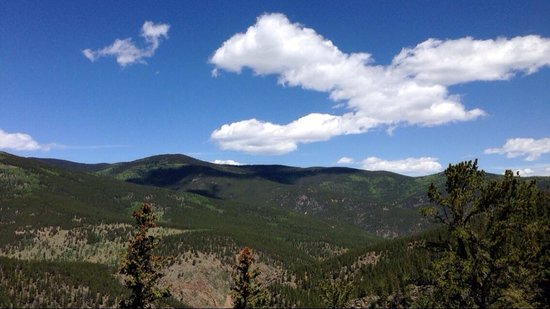 Mount Evans : Almost to the top.
