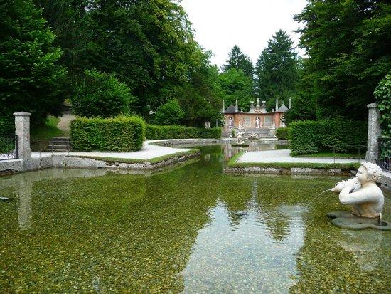 Château d'Hellbrunn : tricky fountains