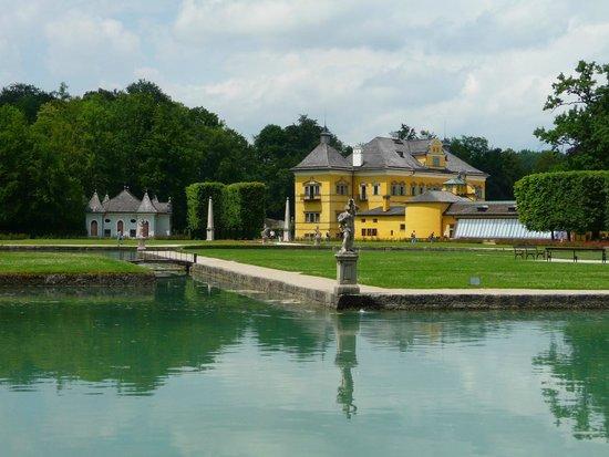 Château d'Hellbrunn : the park