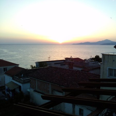 Best Western Hotel La Conchiglia: terrazza sul mare