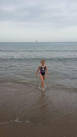 Sirma Apart & Otel: Good sand & calm sea