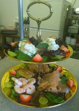 Just Vintage Tea Room Cafe: Fish Platter