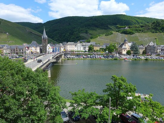 Hotel Drei Konige : Room with a Mosel view