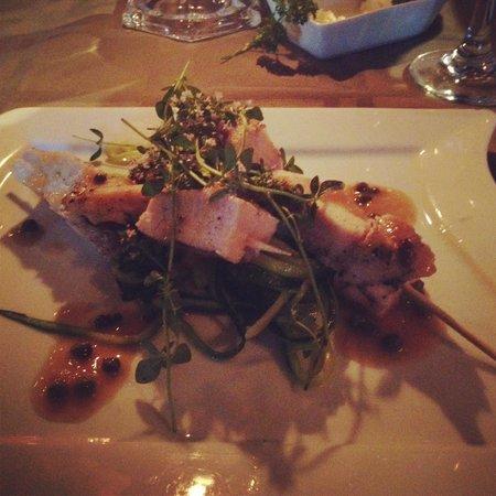 The Inn at Irish Hollow: Chicken piccata.