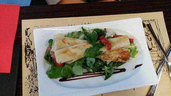 La Gare : Salade de chèvre chaud