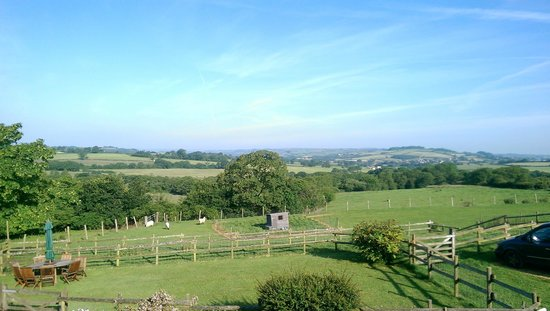 North Buckham Farm: View from our bedroom