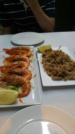 Restaurante Camino De Santiago: como podeis ver, comida de primera calidad