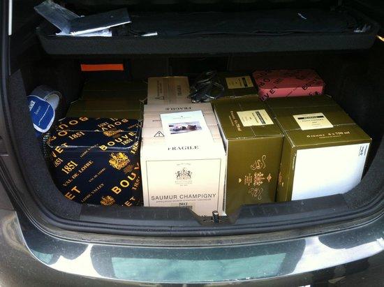 Caves Bouvet-Ladubay : 12 cartons pas plus !!!