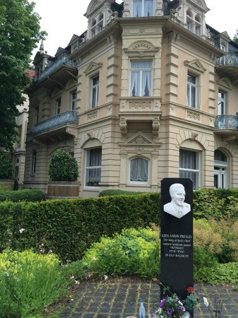 Bad Nauheim, Germany: Presley House Memorial