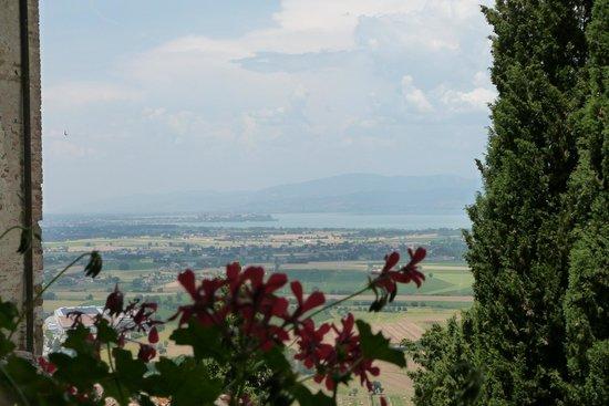 Albergo Ristorante Masolino: the view