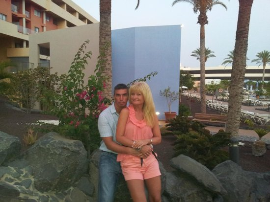 IBEROSTAR Playa Gaviotas Park : Oxana y Vladimir