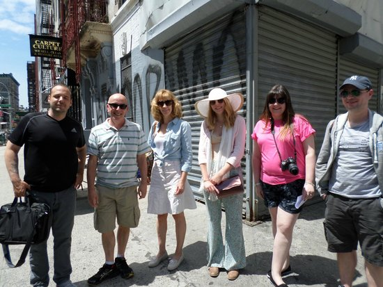 Lower East Side History Project Walking Tours: Group shot
