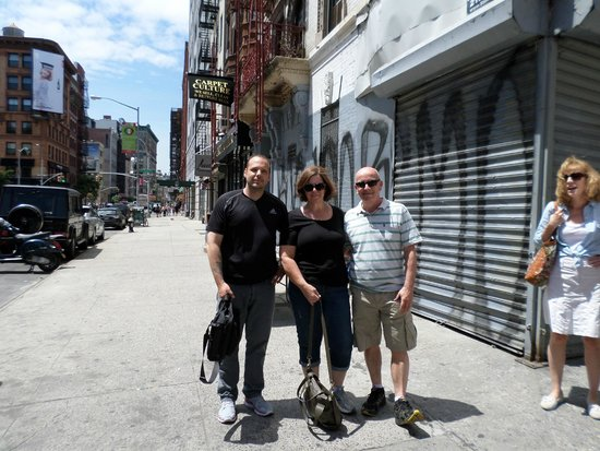 Lower East Side History Project Walking Tours: Eric with us
