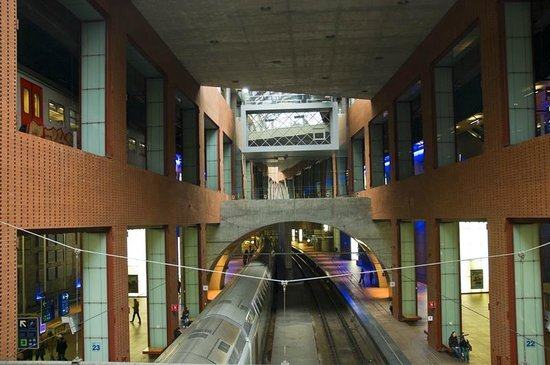 Gare centrale : Future is here