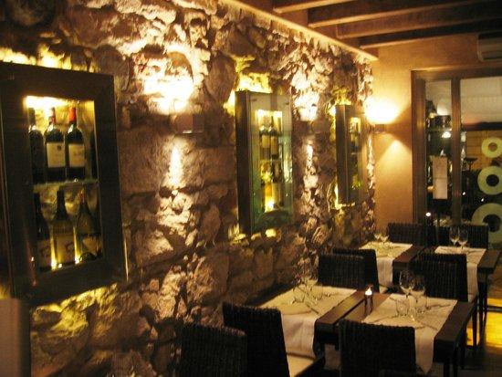 Otium Wine Restaurant: sala ristornte