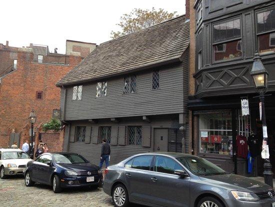 The Paul Revere House: Paul Revere's house