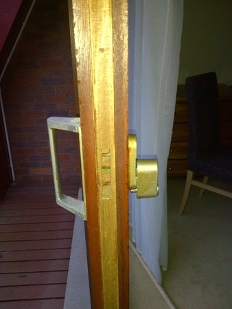 Hilton Coylumbridge Hotel: No locking mechanism