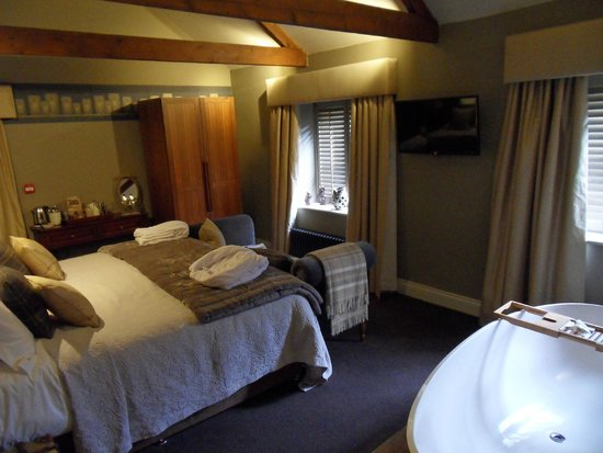 Northumberland Arms: New Moor Tower bedroom