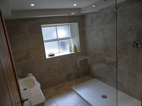 Northumberland Arms: New Moor Tower shower room