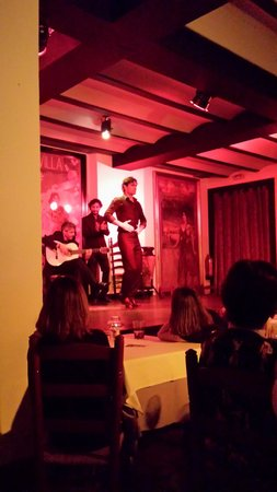 Tablao Flamenco El Arenal: Vielversprechender Tänzer
