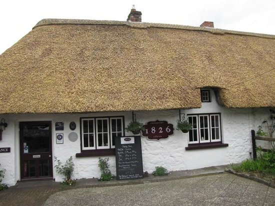 Adare Heritage Centre: The Thatched Roof Shops and Homes in the Town add to the charm