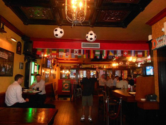 "Slattery's Midtown Pub: Upstairs in the ""Cool Zone"""