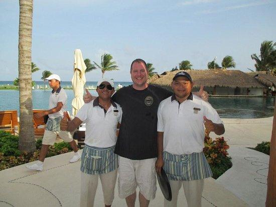 Grand Velas Riviera Maya: Pedro and Wilbur