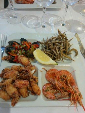 Restaurant Sa Muralla: Pica pica menú 28€
