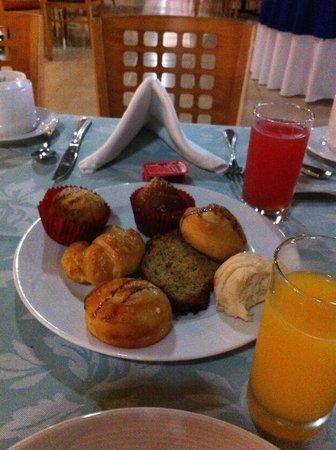 Hotel Villa Mercedes Palenque : colazione