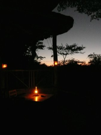 Bua River Lodge : Abendstimmung