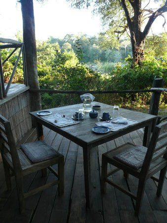 Bua River Lodge: Frühstück