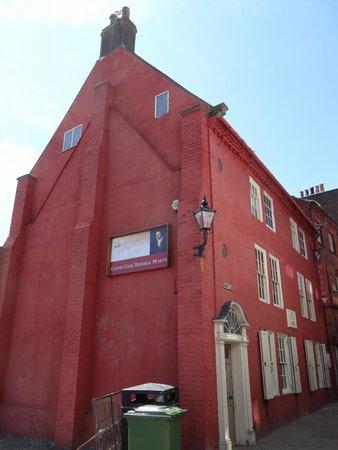 Captain Cook Memorial Museum Whitby : Мемориальный дом-музей Кука