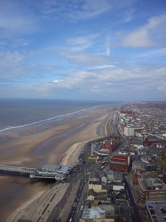 The Blackpool Tower: View from Blackpool Tower